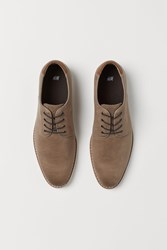 Handm H M Derby Shoes Beige
