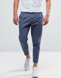 Only And Sons Cropped Chino Blue