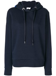 Closed Logo Hoodie Cotton Polyester Blue