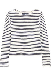 Nlst Breton Striped Knitted Top Cream