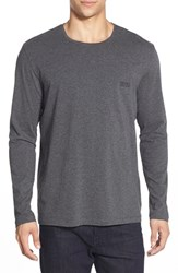 Men's Boss Stretch Cotton Long Sleeve T Shirt