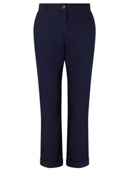 John Lewis Collection Weekend By Cotton Chinos Navy