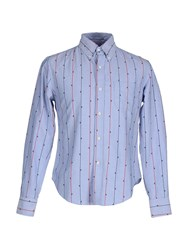 Band Of Outsiders Shirts Shirts Men Sky Blue