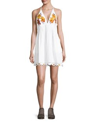 Free People Love And Flower Dress White