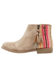 Refresh Ankle Boots Taupe
