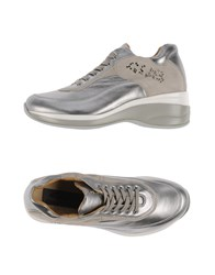 Cesare Paciotti 4Us Footwear Low Tops And Trainers Women Platinum