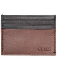 Guess New Hope Card Case Brown Black