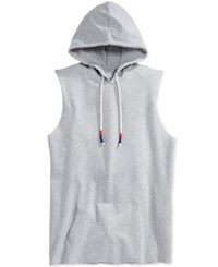 American Rag Men's The Show Hooded Tank Only At Macy's Ar Pewter Heather