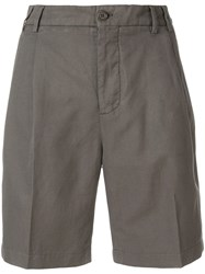 Aspesi High Waist Shorts Grey