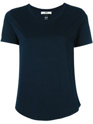 Hope Basic T Shirt Women Cotton Modal 34 Blue