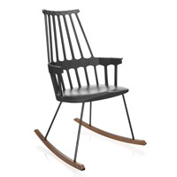 Kartell Comback Rocking Chair Black