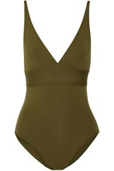 Eres Les Essentiels Larcin Swimsuit Army Green