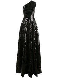 Alex Perry Jasper Sequinned One Shoulder Gown 60