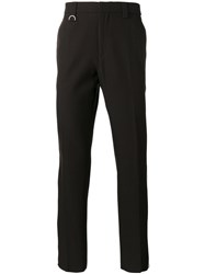 Golden Goose Deluxe Brand Striped Track Trousers Men Cotton Virgin Wool M Brown