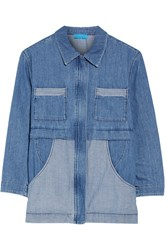 Mih Jeans Painters Chambray Jacket Mid Denim