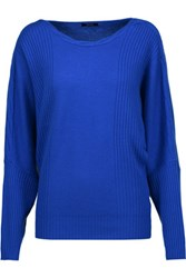 Raoul Cable Knit Wool And Cashmere Blend Sweater Royal Blue