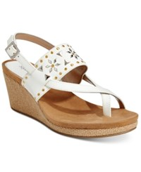 Styleandco. Style And Co. Jazzmine Embellished Slingback Wedge Sandals Only At Macy's Women's Shoes