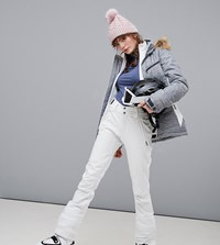 Protest Lole Softshell Snow Pants In White