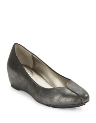 Me Too Jasmin Faux Leather Pumps Gunmetal Grey