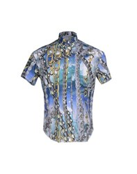 Leitmotiv Shirts Shirts Men Blue