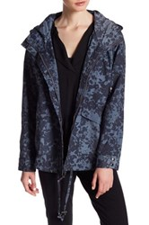 Lucky Brand Woven Printed Jacket Multi