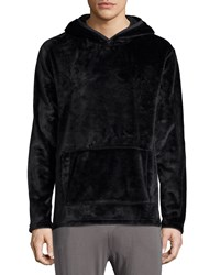 Ugg Shiny Hooded Sweatshirt Black Women's