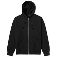 Alexander Wang T By Vintage Fleece Zip Hoody Black
