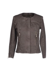 Liviana Conti Jackets Dove Grey