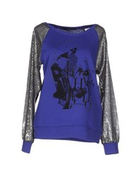 Annarita N. Topwear Sweatshirts Women Purple