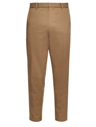 Wooyoungmi Tapered Leg Cotton Blend Trousers