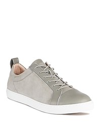 Whistles Kenley Suede And Leather Trainer Sneakers Gray