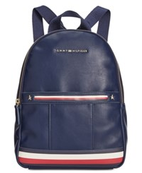 Tommy Hilfiger Larissa Smooth Small Dome Backpack Tommy Navy