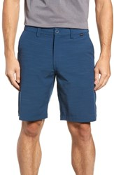 Travis Mathew Undertow Hybrid Shorts Blue Wing Teal