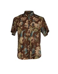 Denim And Supply Ralph Lauren Shirts Shirts Men Dark Brown