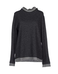 Blugirl Blumarine Turtlenecks Steel Grey
