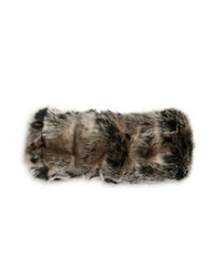 Parkhurst Faux Fur Headband Grey