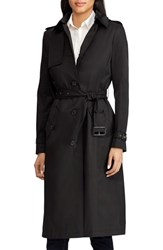Lauren Ralph Lauren Hooded Trench Coat