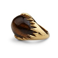 Kasun Eye Of Poseidon Ring Gold And Tigers Eye