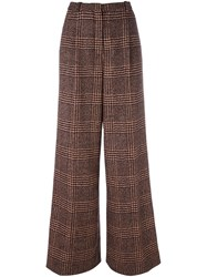 Sonia Rykiel Checked Tweed Trousers Black