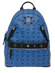 Mcm Medium Dual Stark Faux Leather Backpack