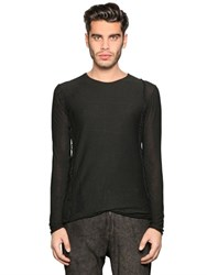 Giorgio Brato Viscose And Wool Knit Sweater