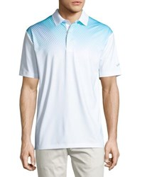 Callaway Diagonal Gradient Polo Shirt Bright White