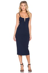 Dolan Bodycon Slip Dress Navy