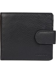 Dents Rfid Protection Leather Wallet Black