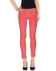 Denny Rose Trousers Casual Trousers Women Coral