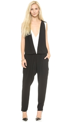 Ramy Brook Revi Jumpsuit Ivory Black