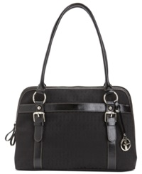 Giani Bernini Handbag Annabelle Dome Satchel Black