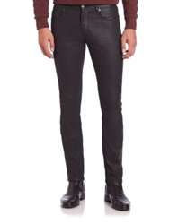 J. Lindeberg Damien Edge Coated Jeans Black