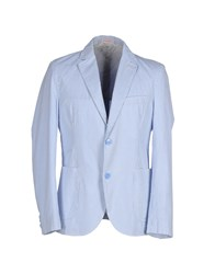 Sun 68 Suits And Jackets Blazers Men Sky Blue