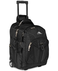 High Sierra Xbt Rolling Laptop Backpack Black